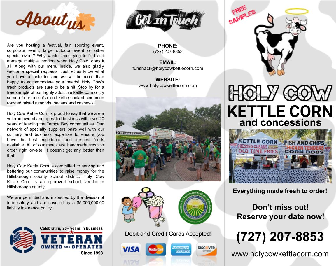 Holy Cow Brochure